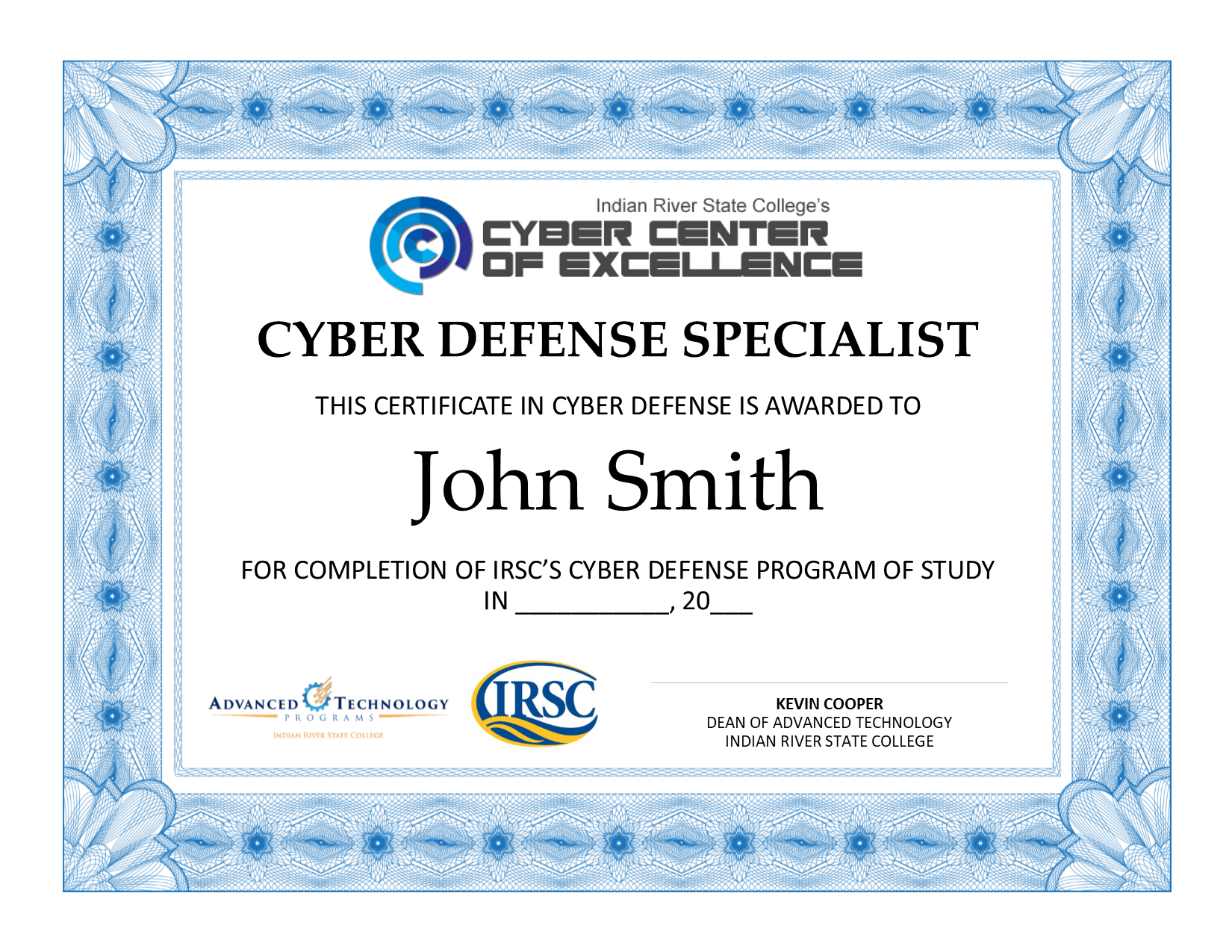Irsc Now Offering A Cyber Defense Specialist Certificate Cyber